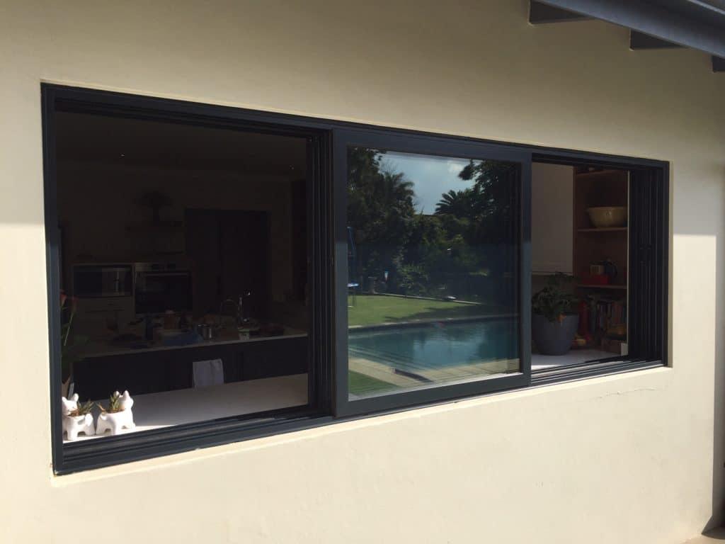 Aluminium sliding windows 1000 series