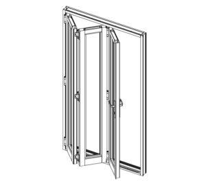Vistafold Stacking Folding Doors
